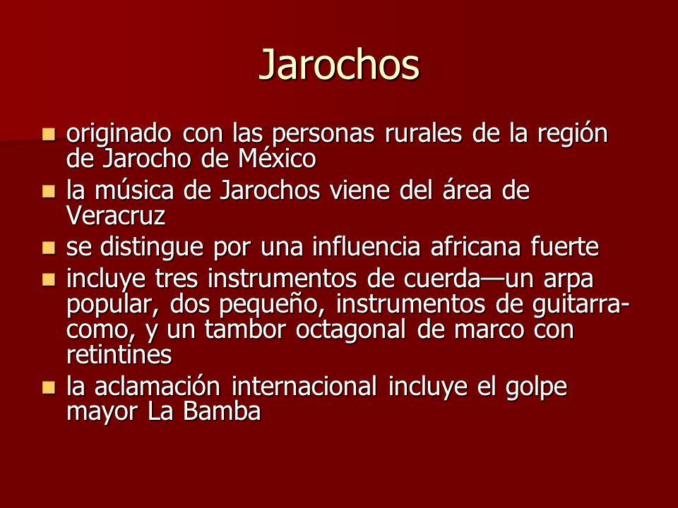 Jarochos originado con las personas rurales de la región de Jarocho de México originado con las personas rurales de la región de Jarocho de México la