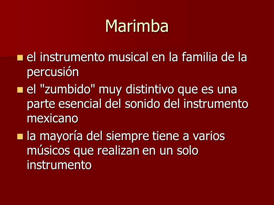 Marimba el instrumento musical en la familia de la percusión el instrumento musical en la familia de la percusión el
