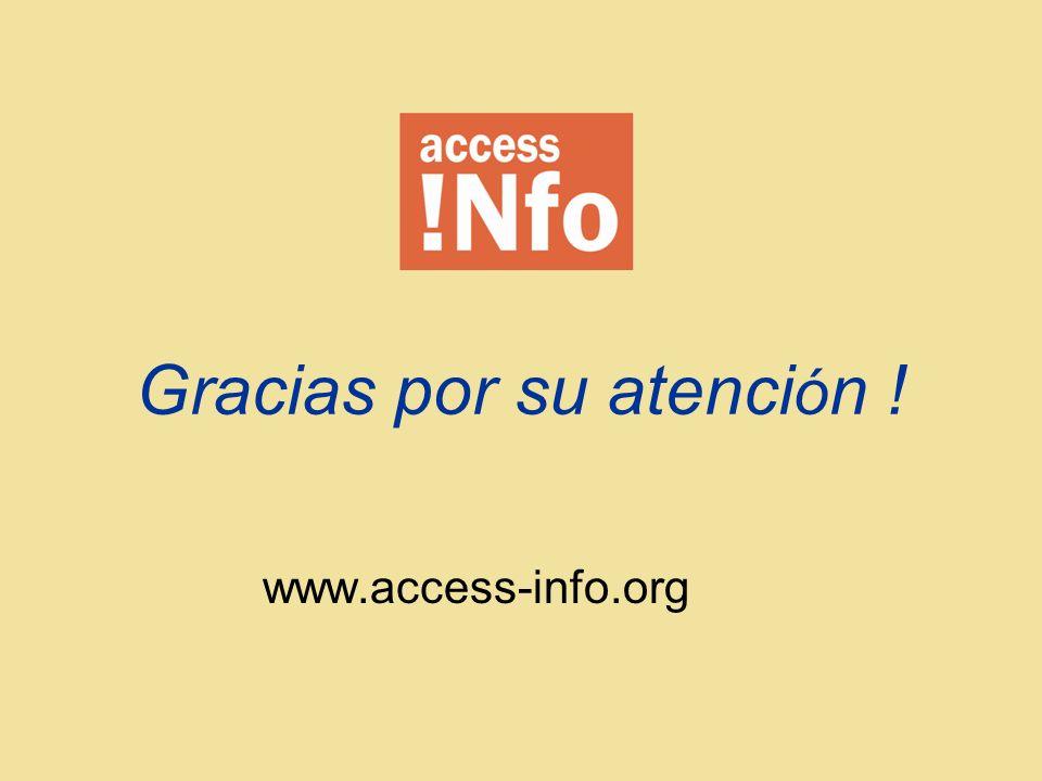 www.access-info.org Gracias por su atenci ó n !