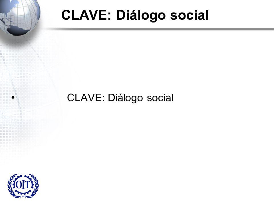 CLAVE: Diálogo social