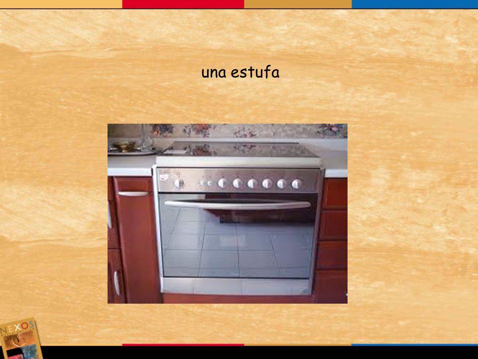 una estufa