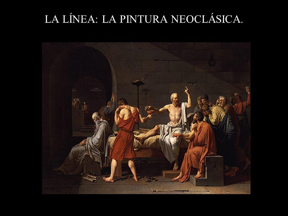 LA LÍNEA: LA PINTURA NEOCLÁSICA.