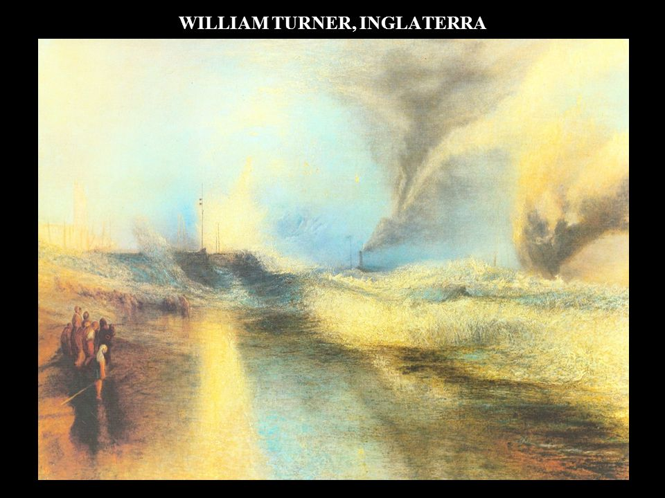 WILLIAM TURNER, INGLATERRA