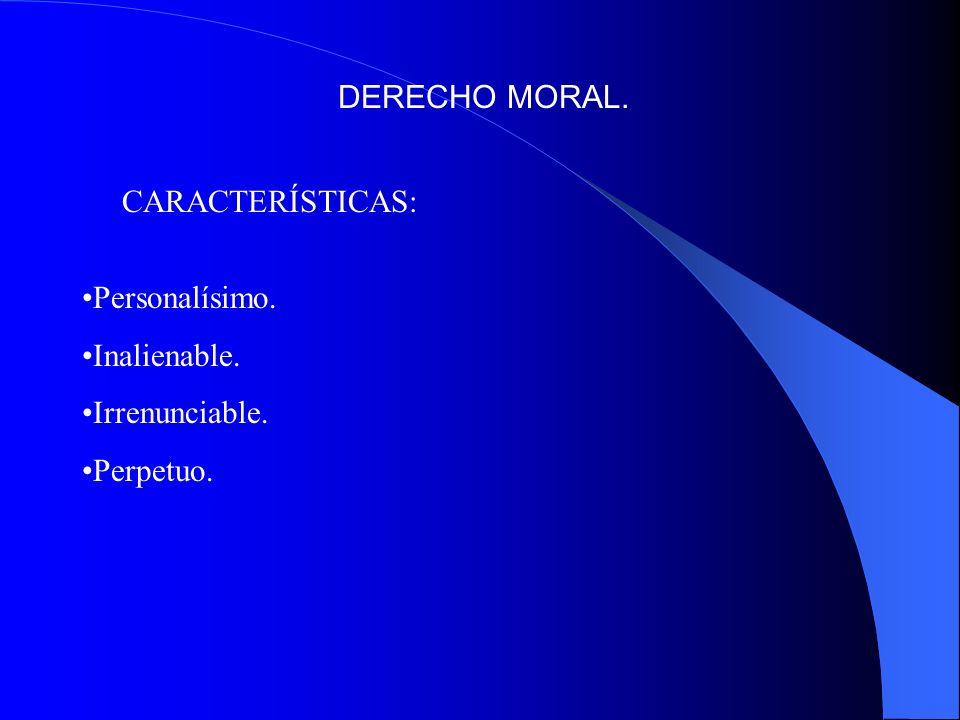 DERECHO PATRIMONIAL.Derecho de disposición. Derecho de reproducción.