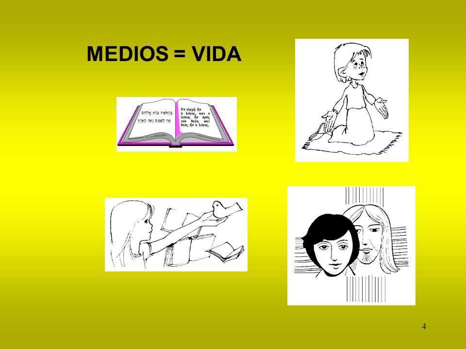 4 MEDIOS = VIDA