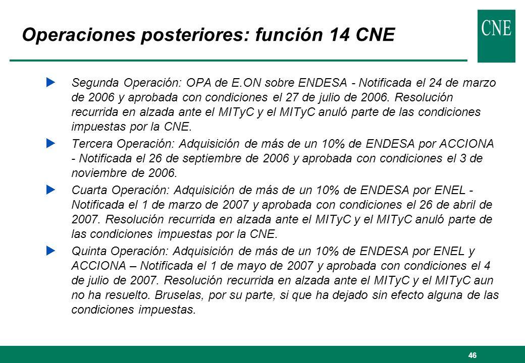 47 Análisis regulatorio función 14 .