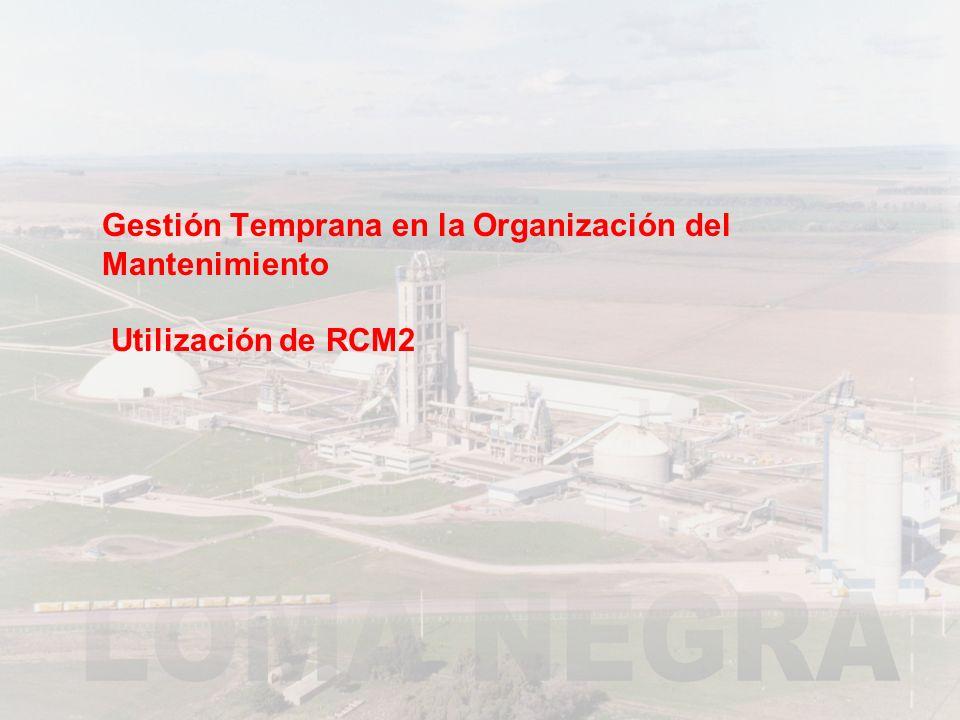 MANTENIMIENTO DEL SISTEMA Análisis Estrategia Plan de Mant.