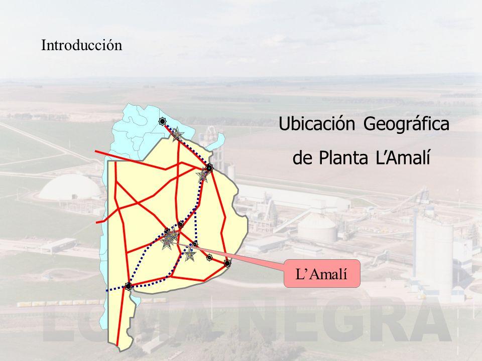 Introducción LAmalí Ubicación Geográfica de Planta LAmalí