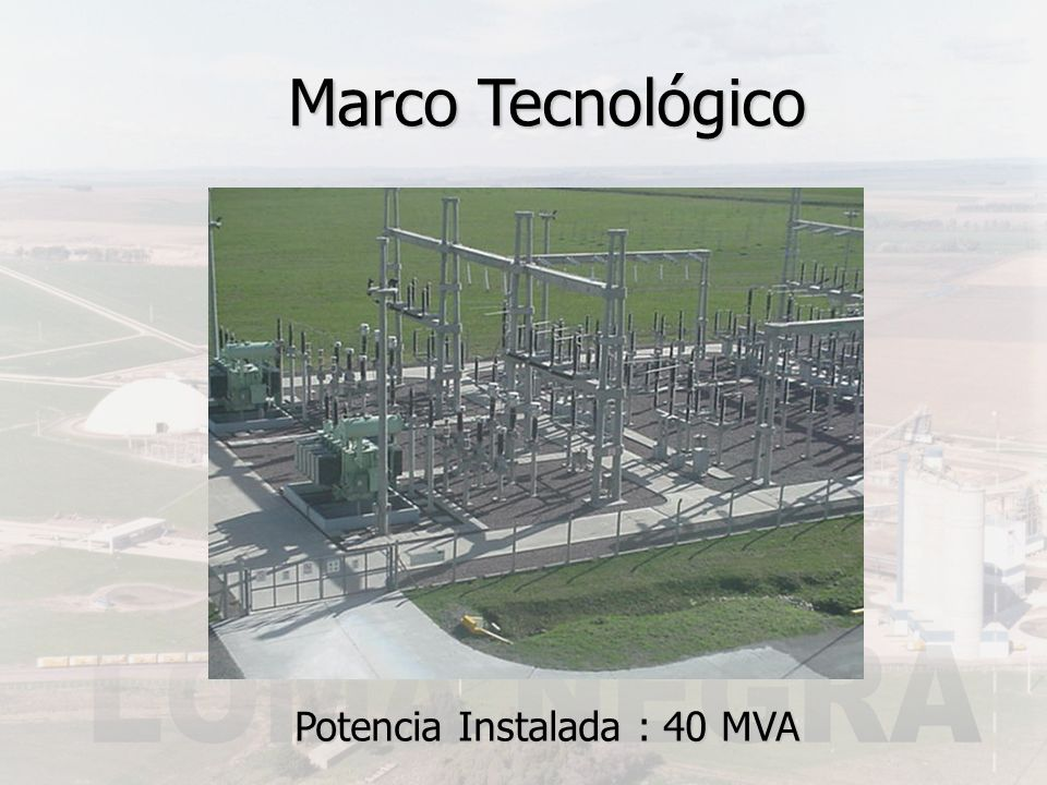 Marco Tecnológico Control Centralizado de Procesos