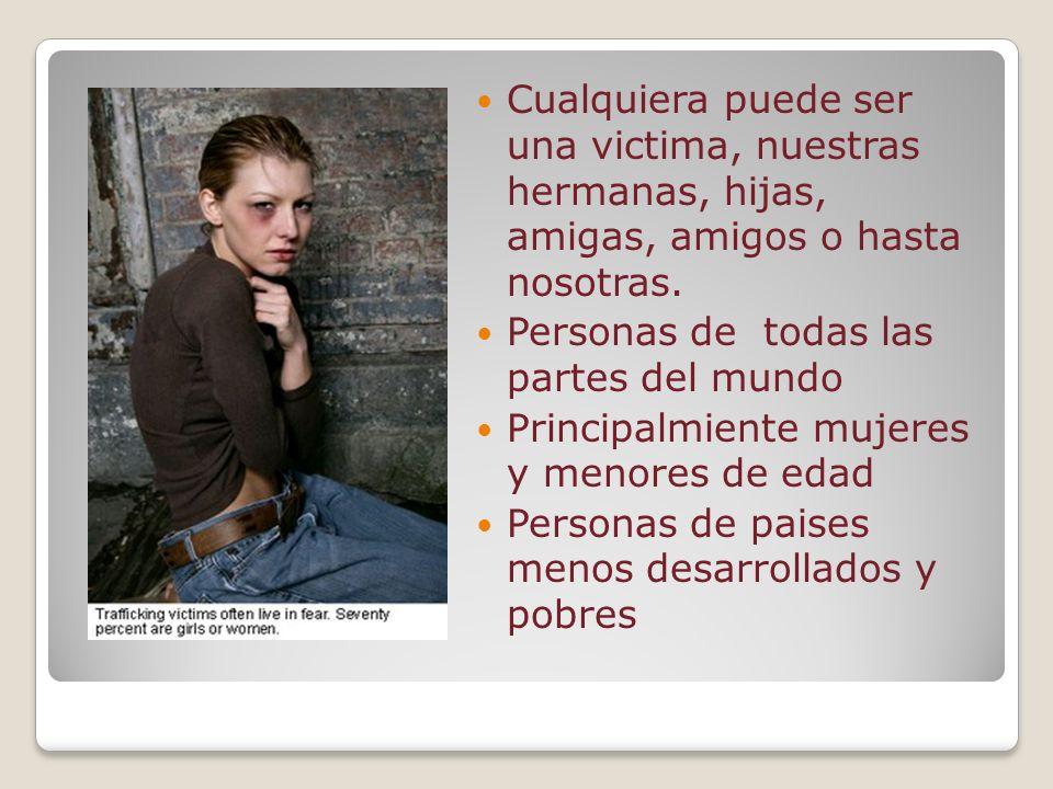 ¿Quién son las personas que comenten este delito? Jorge Flores Rojas Tráfico sexual