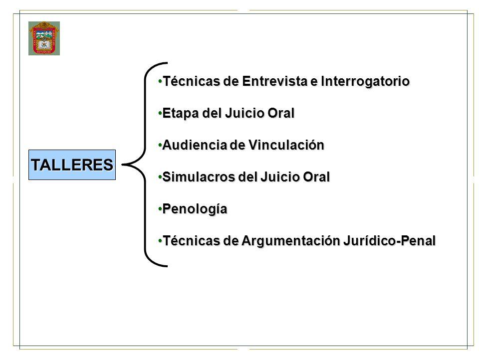 Técnicas de Entrevista e InterrogatorioTécnicas de Entrevista e Interrogatorio Etapa del Juicio OralEtapa del Juicio Oral Audiencia de VinculaciónAudi
