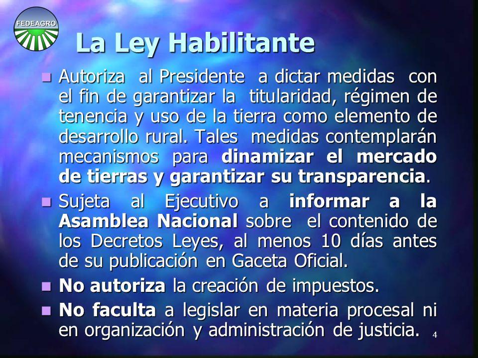 5 LA CONSTITUCIÓN : LA CONSTITUCIÓN : Artículo 203: Son leyes orgánicas, entre otras, las que se dicten para desarrollar los derechos constitucionales.