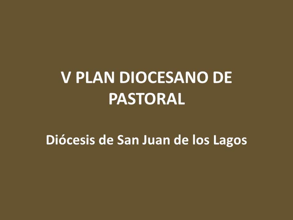V PLAN DIOCESANO DE PASTORAL Diócesis de San Juan de los Lagos