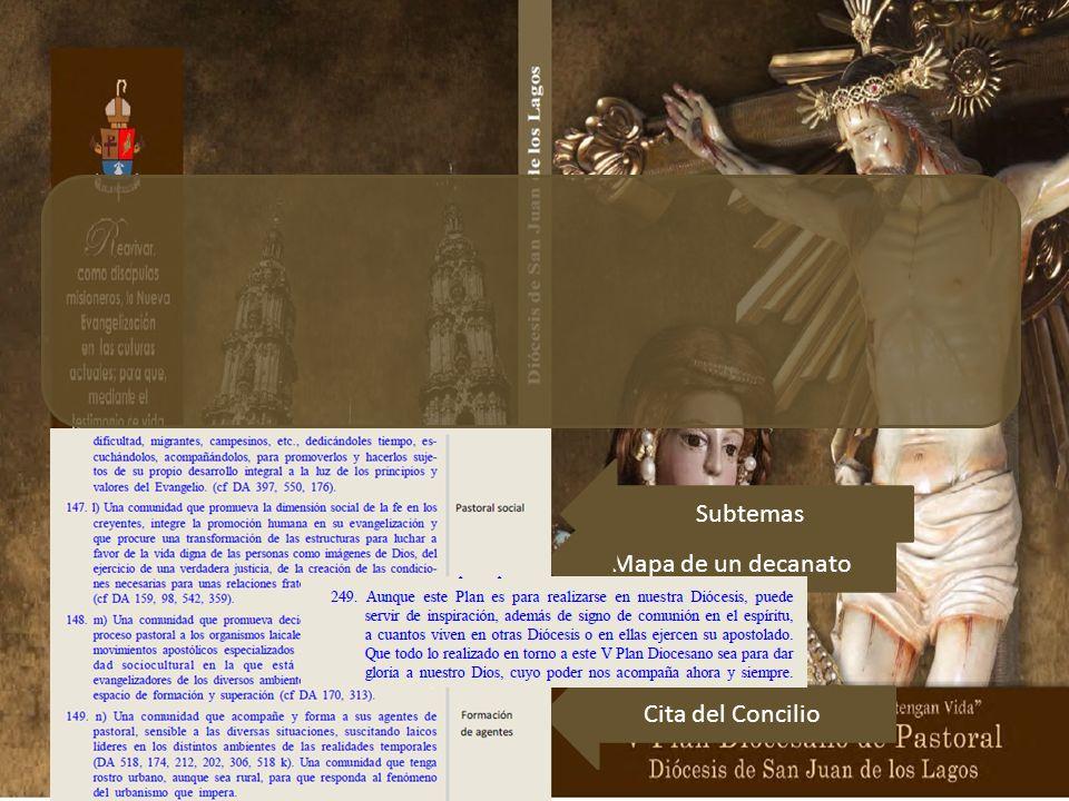 En 97 páginas, 249 párrafos enumerados, se presentan sus ocho partes o capítulos. Al inicio de cada uno está una cita del Concilio Vaticano II, pues c