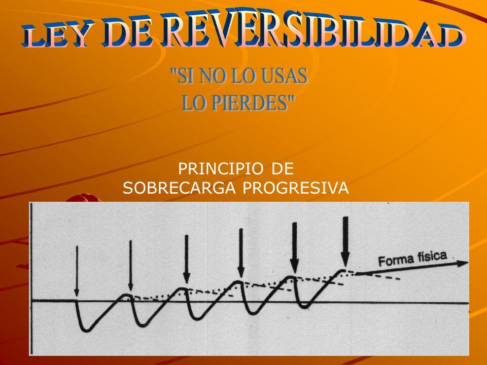 PRINCIPIO DE SOBRECARGA PROGRESIVA