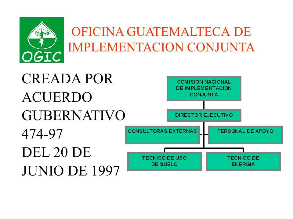 VISION DE OGIC Cambio Climático es un tema transversal que toca todas las instituciones y entidades de nuestro país.