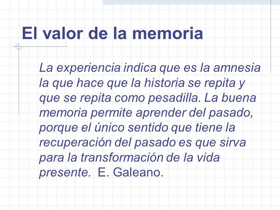 El valor de la memoria La experiencia del Proyecto de Reconstrucci ó n de la Memoria Hist ó rica Carlos Mart í n Beristain Proyecto REMHI
