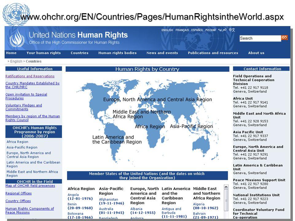 www.ohchr.org/EN/Countries/Pages/HumanRightsintheWorld.aspx