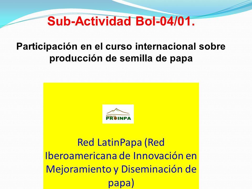 Sub-Actividad Bol-04/01.