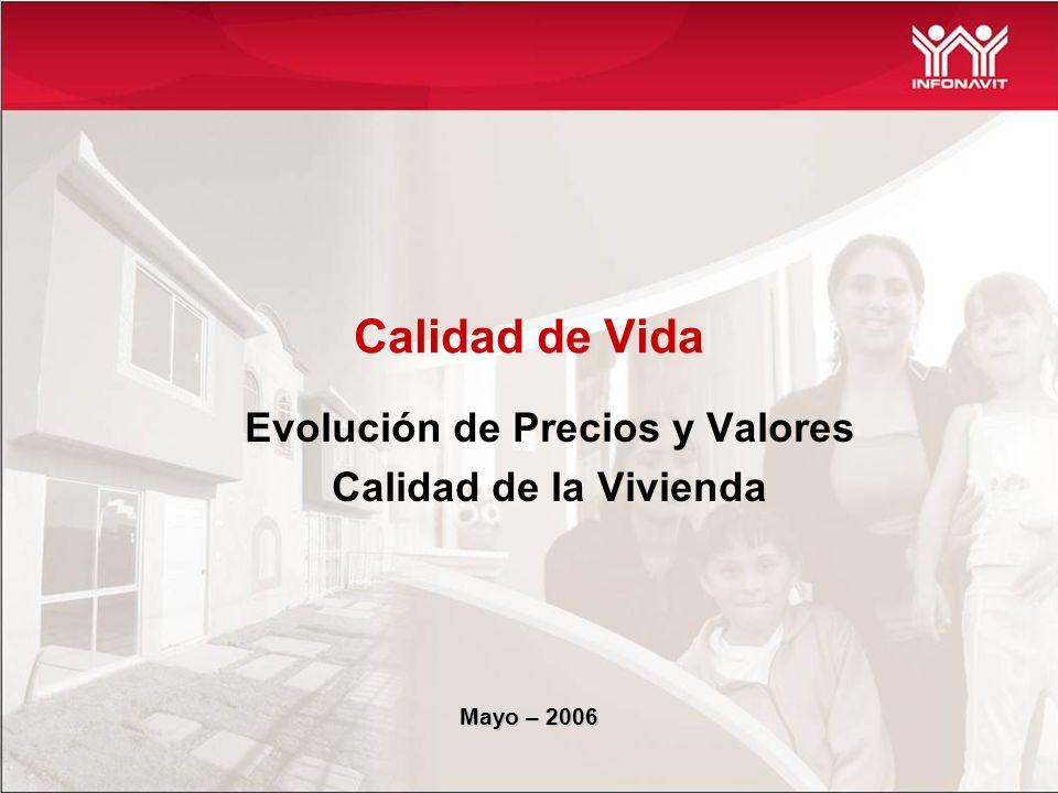 INDICES VIVIENDA TRADICIONAL 2003 - 2006