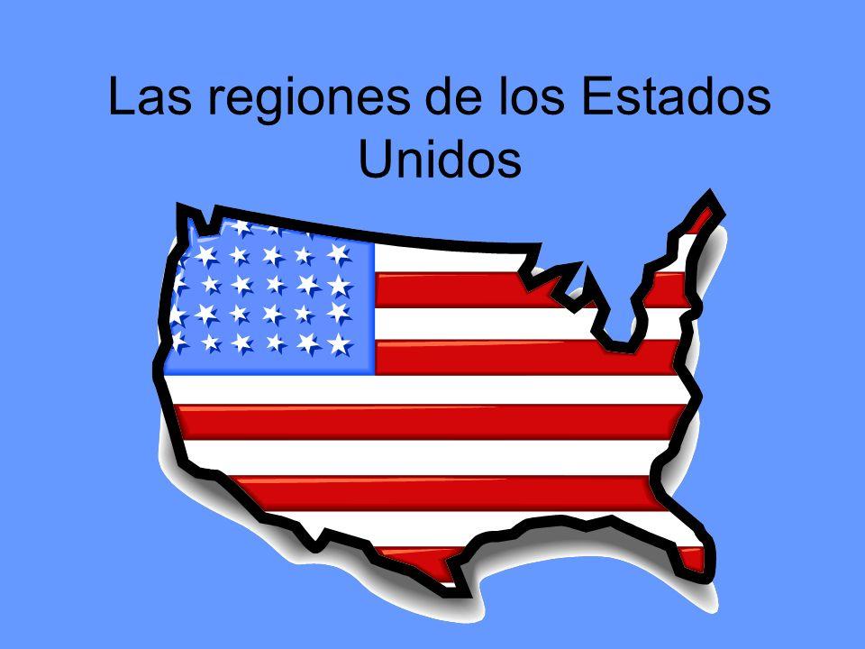 Las regiones de los Estados Unidos