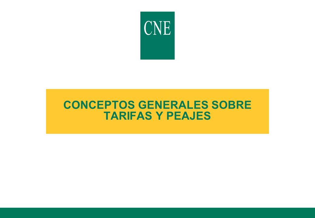 53 lCálculo de retribución de actividades de redes (Real Decreto 2819/1998, de 23 de diciembre) Costes de transporte Costes de distribución Costes de comercialización Tarifa Media