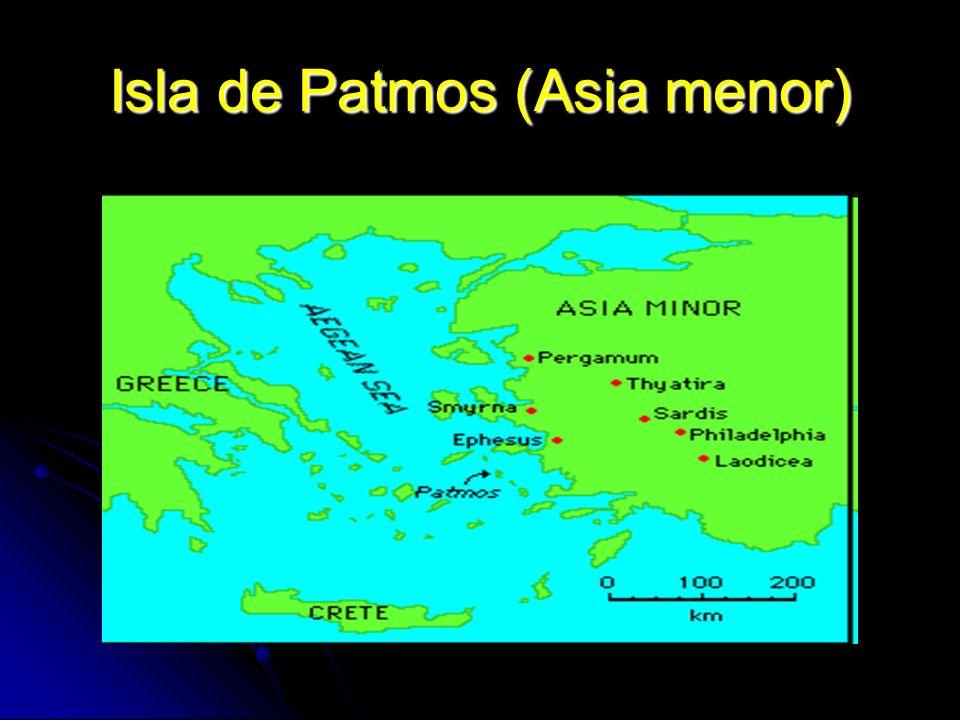 Isla de Patmos (Asia menor)