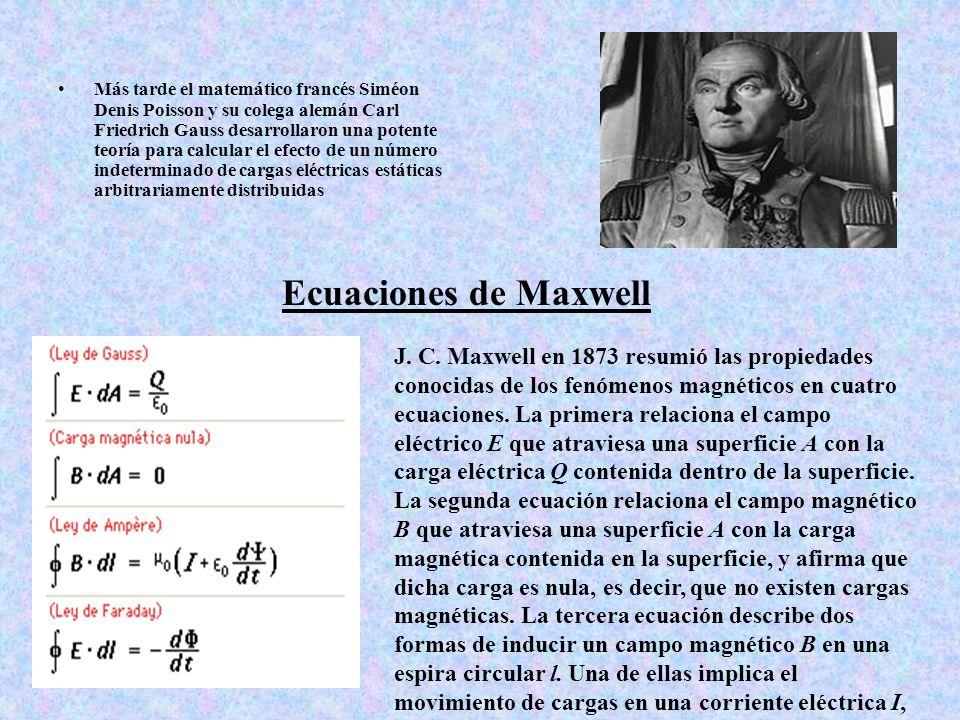 Más tarde el matemático francés Siméon Denis Poisson y su colega alemán Carl Friedrich Gauss desarrollaron una potente teoría para calcular el efecto