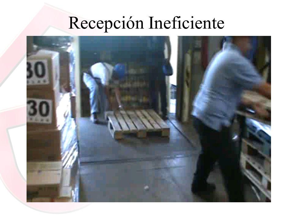 Recepción Ineficiente