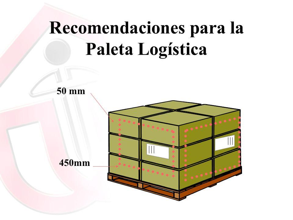 Recomendaciones para la Paleta Logística 450mm 50 mm