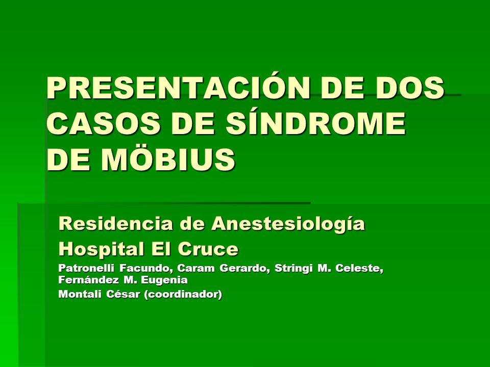 Introducción Introducción El síndrome de Möbius (SM) es una alteración del desarrollo del rombencéfalo (núcleos de los pares craneales y trayectos nerviosos) que obedece a distintas causas.