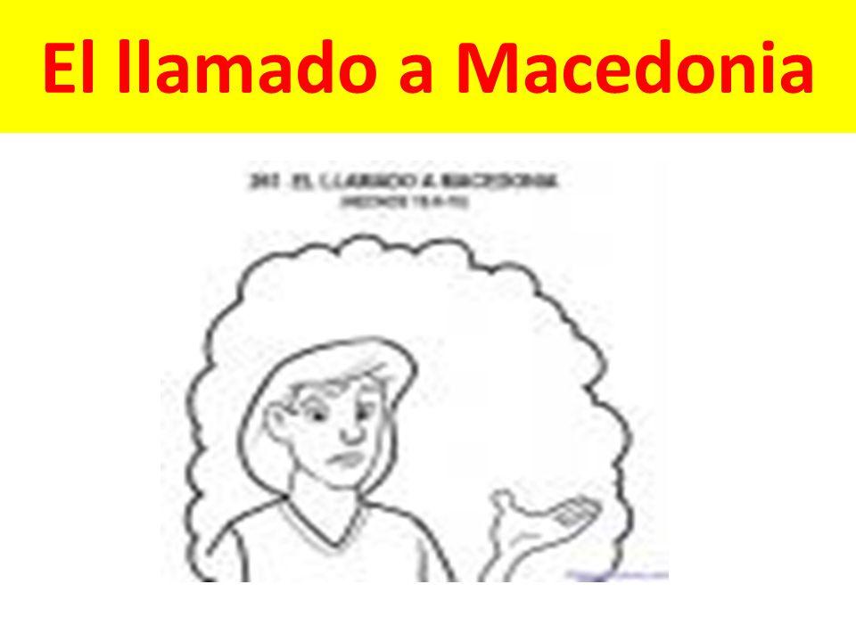 El llamado a Macedonia