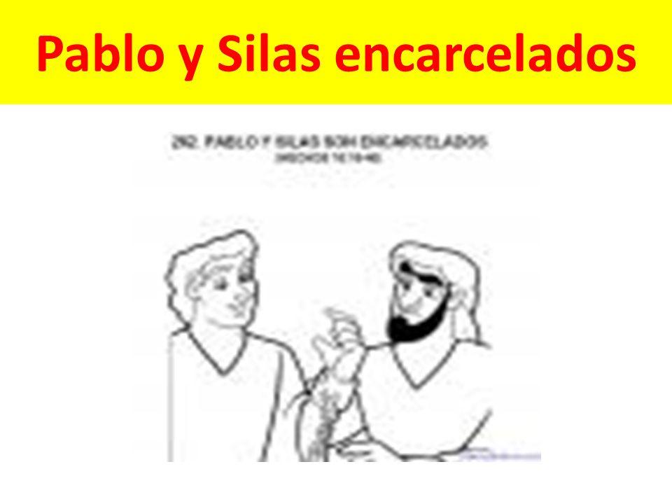 Pablo y Silas encarcelados