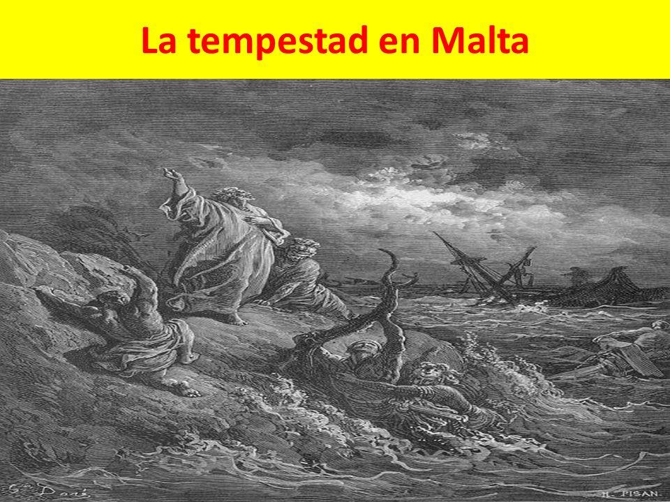 La tempestad en Malta