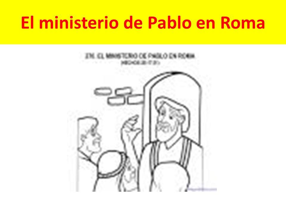 El ministerio de Pablo en Roma