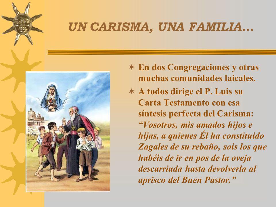 EN UNIDAD CON LA IGLESIA... Aprobación diocesana de sus Congregaciones. Aprobación de la Santa Sede en 1902, el 25 de marzo las hermanas y el 19 de se