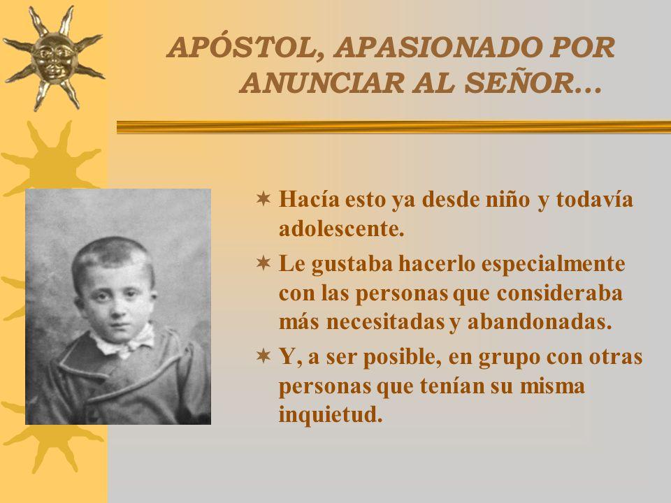 INSTRUMENTO DEL ESPÍRITU El Espíritu Santo que actúa siempre en la Iglesia, suscitó, por medio del P. Luis Amigó, un nuevo Carisma. Obra querida por D