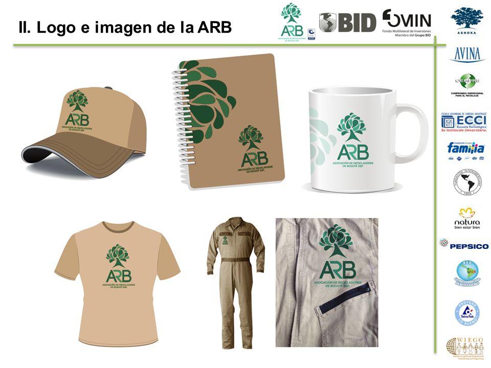II. Logo e imagen de la ARB