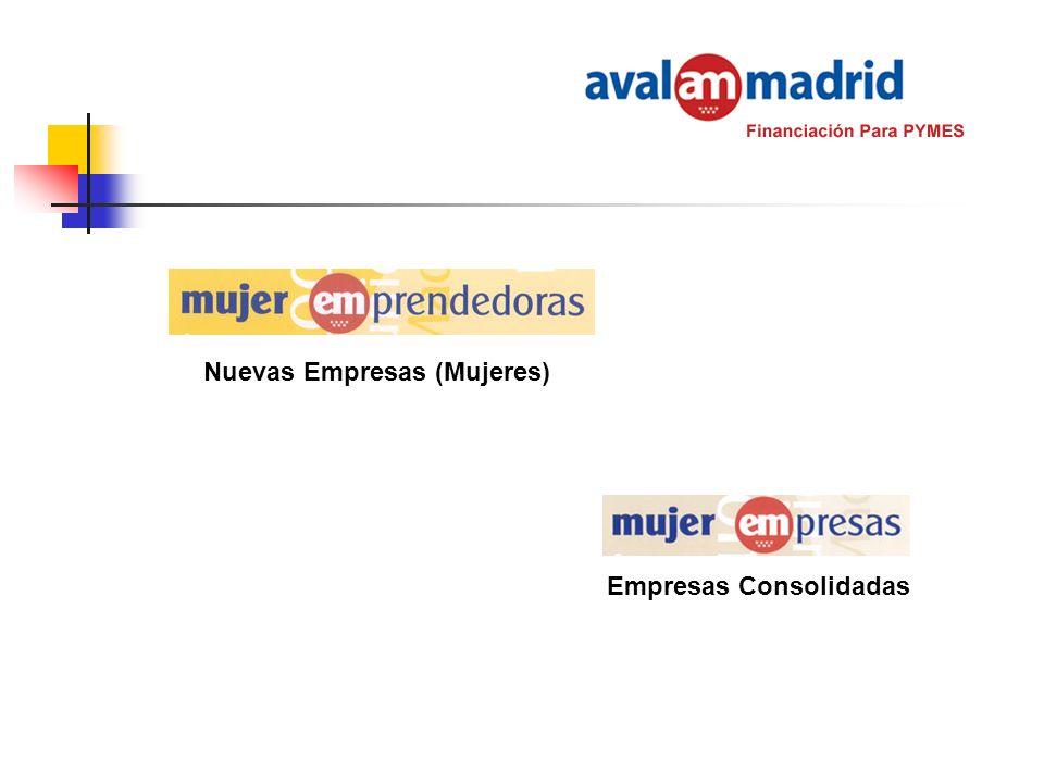 Nuevas Empresas (Mujeres) Empresas Consolidadas