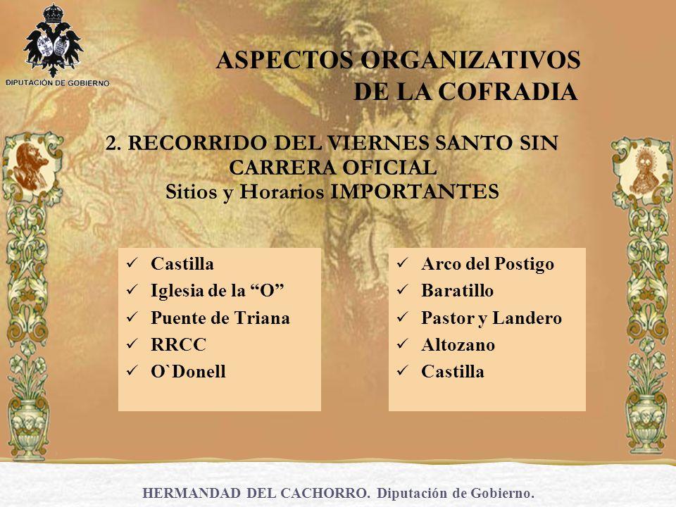 HERMANDAD DEL CACHORRO.Diputación de Gobierno. 3.