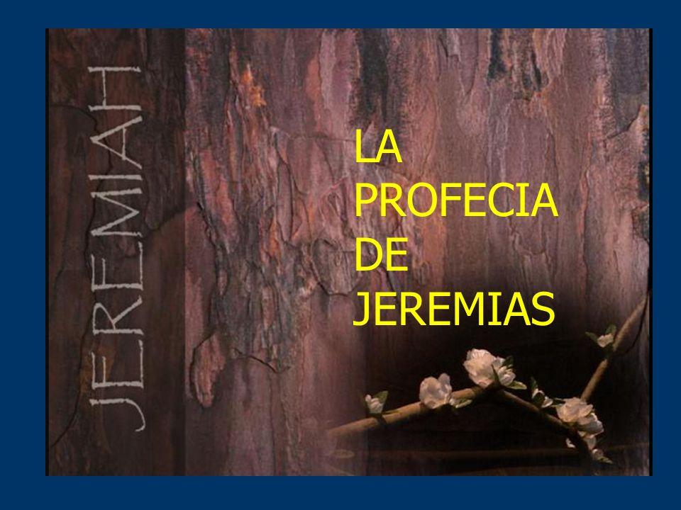 LA PROFECIA DE JEREMIAS