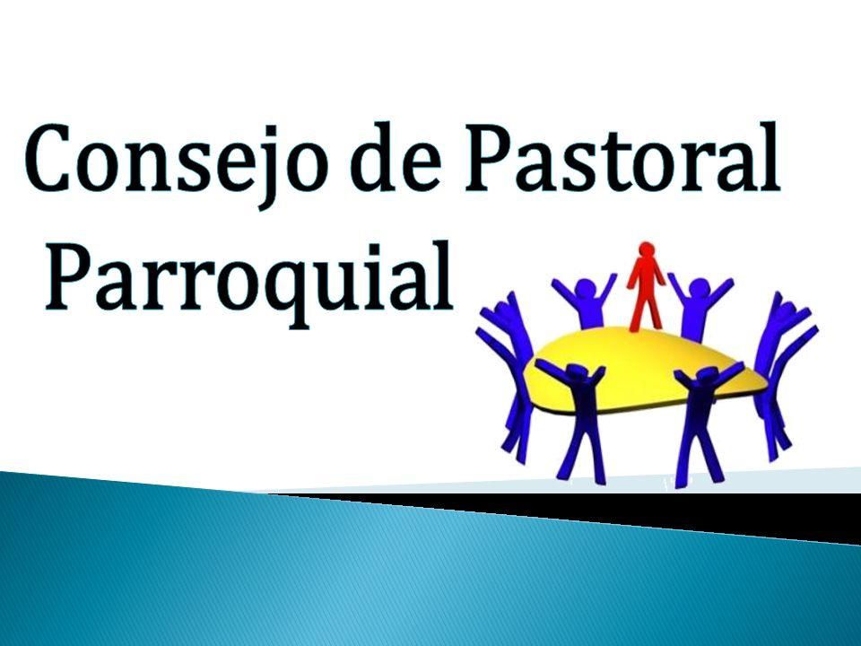 Es un organismo eclesial de carácter consultivo (c.c.511-514.536 & 2), presidido por el párroco e integrado por sacerdotes, religiosos (as) y laicos representantes de la comunidad, que ayuden responsable y eficazmente en el análisis de la realidad pastoral, la planeación y elaboración de proyectos de su parroquia (c.536 & 1) ejerciendo su triple misión: sacerdotal, profética y real (c.204; A.A.10; D.P.654).