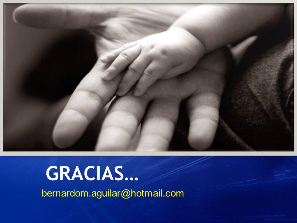 GRACIAS… bernardom.aguilar@hotmail.com