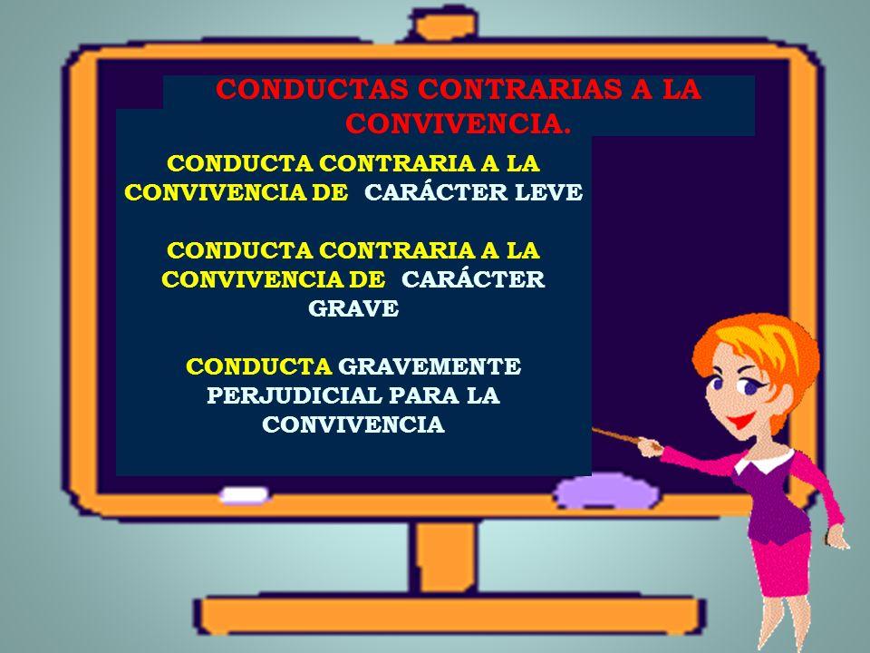 NORMAS DE CONVIVENCIA Son pautas sociales reconocidas como necesarias por la comunidad educativa para mantener un clima de convivencia escolar adecuad