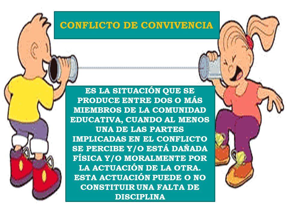 CONVIVENCIA ESCOLAR INTERRELACIÓN ENTRE LOS DIFERENTES MIEMBROS DE LA COMUNIDAD EDUCATIVA QUE TIENEN UNA SIGNIFICATIVA INCIDENCIA EN EL DESARROLLO ÉTI