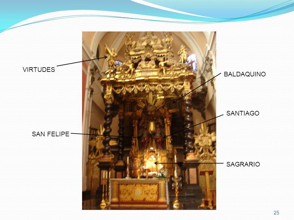 25 SAGRARIO BALDAQUINO VIRTUDES SAN FELIPE SANTIAGO