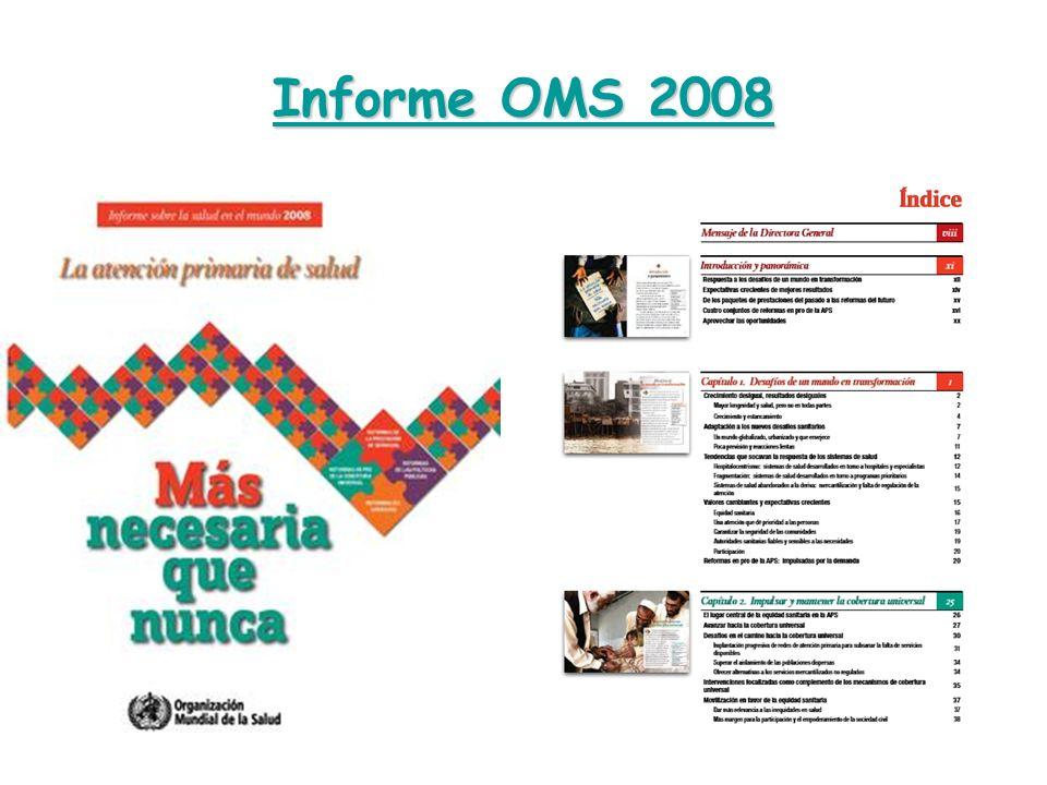 Informe OMS 2008