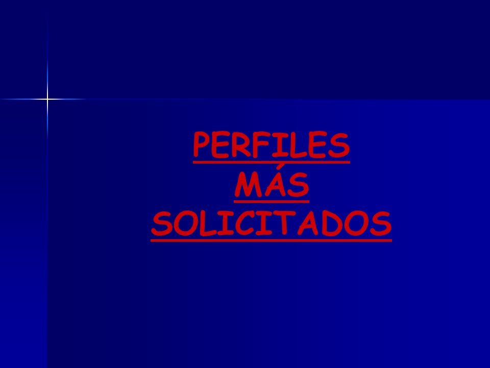 PERFILES MÁS SOLICITADOS DEPARTAMENTO DE MANTENIMIENTO DE VEHÍCULOS AUTOPROPULSADOS: DEPARTAMENTO DE MANTENIMIENTO DE VEHÍCULOS AUTOPROPULSADOS:RecepcionistasMecánicos Mecánicos electricistas Carrocería.