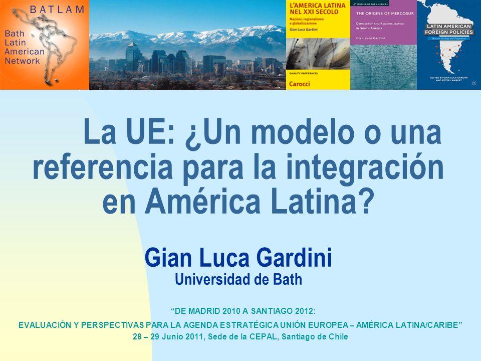 DE MADRID 2010 A SANTIAGO 2012: EVALUACIÓN Y PERSPECTIVAS PARA LA AGENDA ESTRATÉGICA UNIÓN EUROPEA – AMÉRICA LATINA/CARIBE 28 – 29 Junio 2011, Sede de