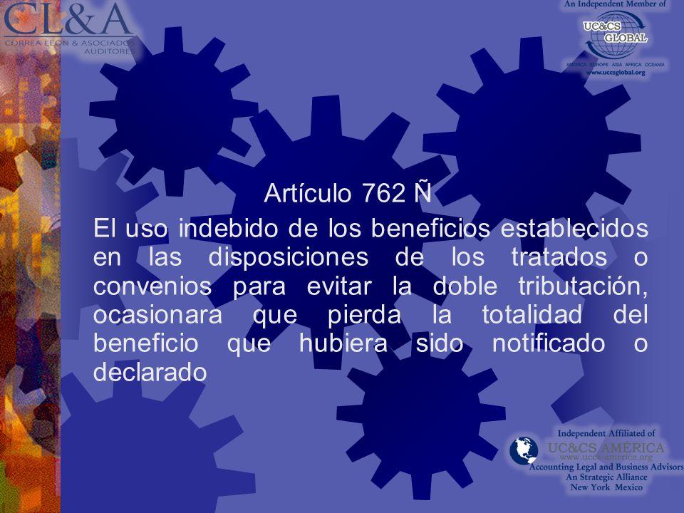Artículo 762 I No presentar informe de precios de transferencias: Sanción 1% del monto total de las operaciones relacionadas